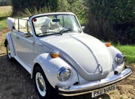 Classic VW Beetle for weddings in Maidenhead